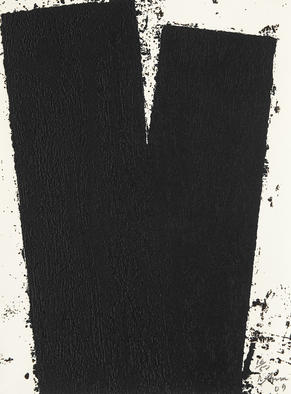 estampe Promenade notebook IV Richard Serra