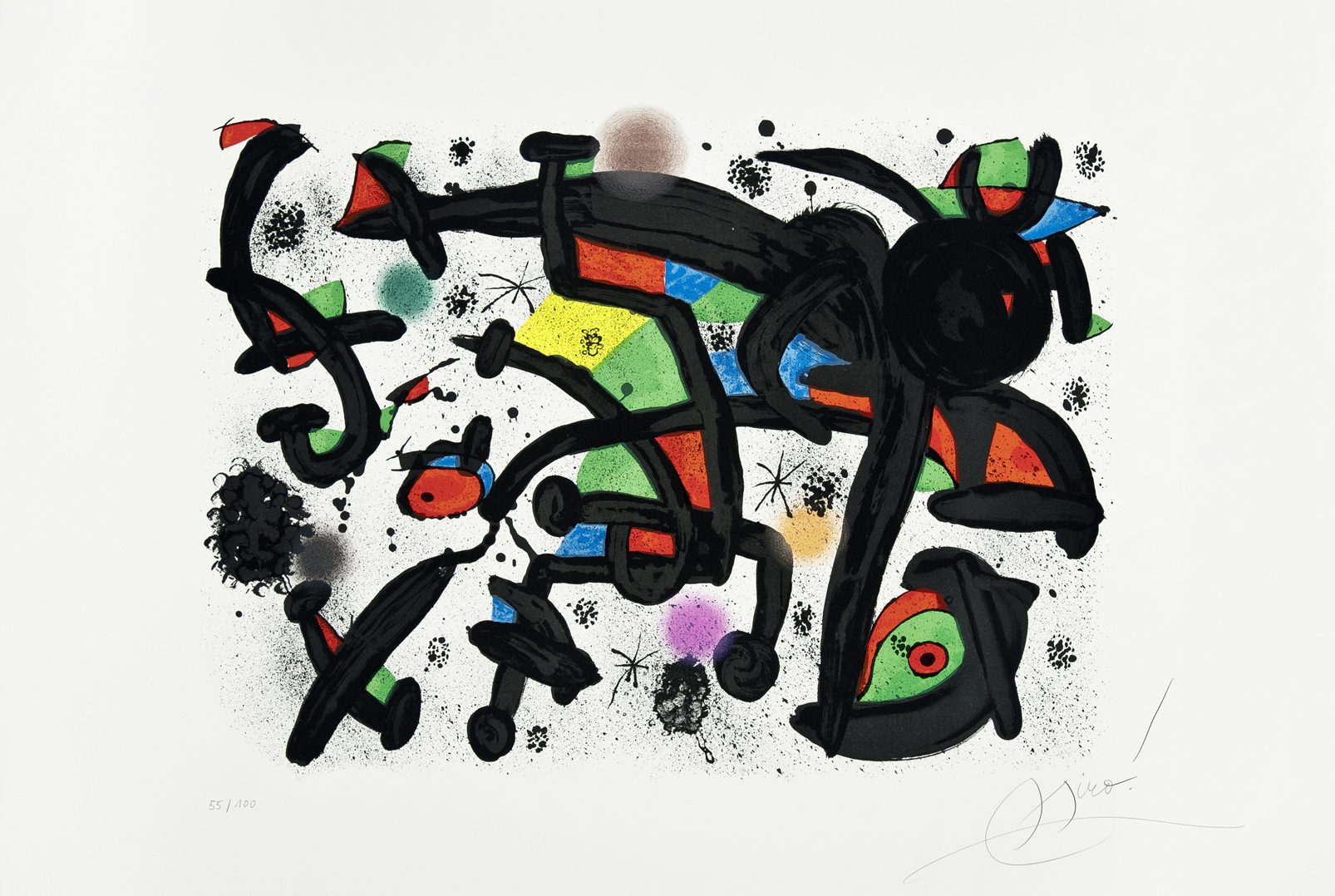 Joan Miro Artiste Galerie Lelong Co