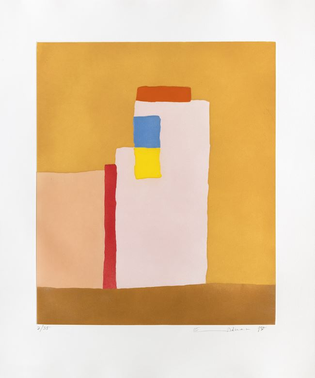 estampe Adobe Etel Adnan