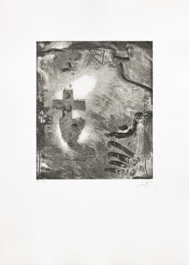 estampe Minor 2 [cat. raisonné: 1190] Antoni Tàpies