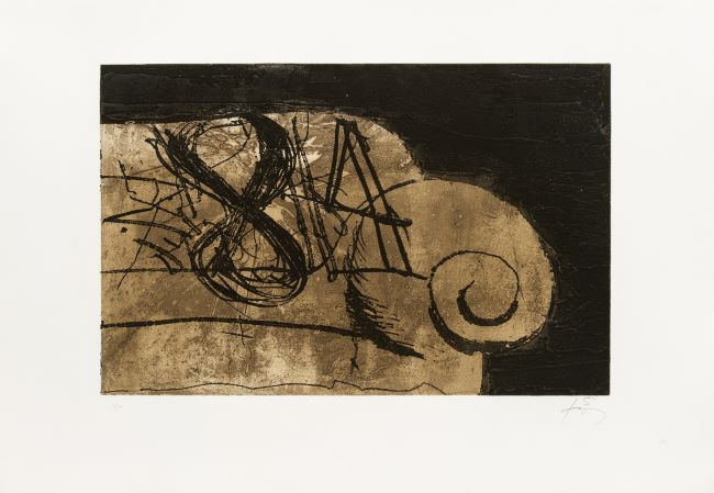 estampe Sofa Antoni Tàpies
