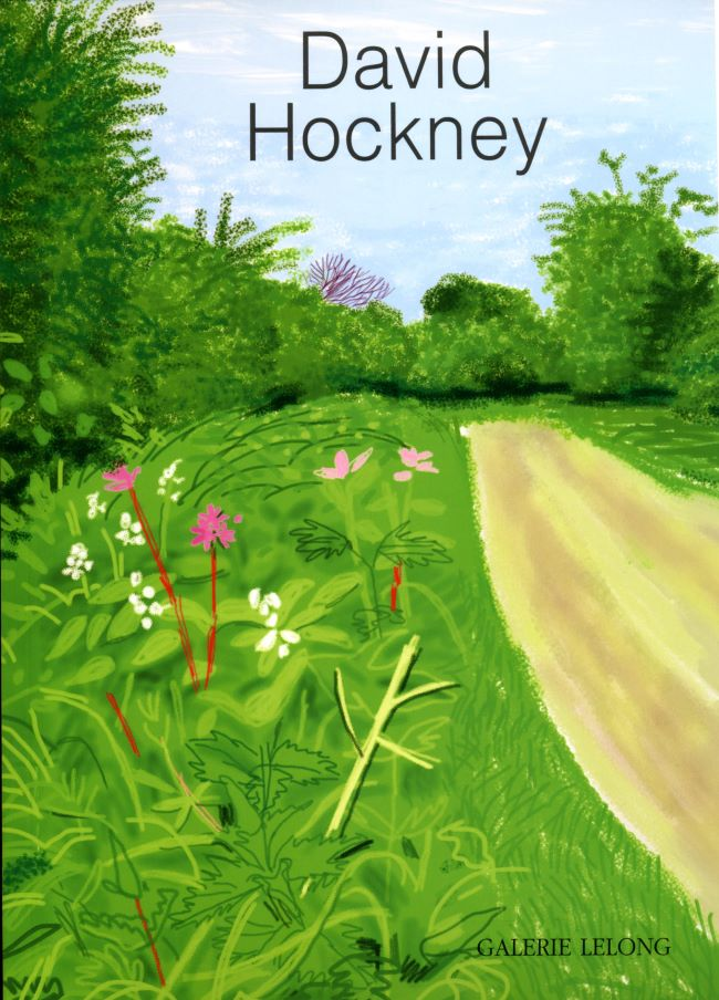 livre David Hockney, The Arrival of Spring in Woldgate David Hockney