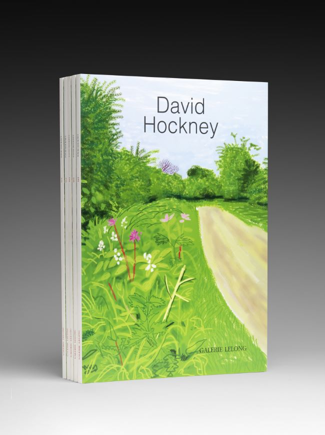 livre The Arrival of Spring in Woldgate David Hockney