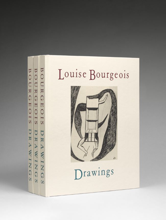livre Drawings Louise Bourgeois