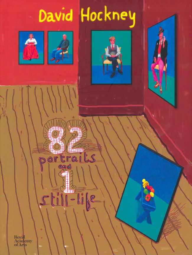 livre 82 portraits and 1 still-life David Hockney