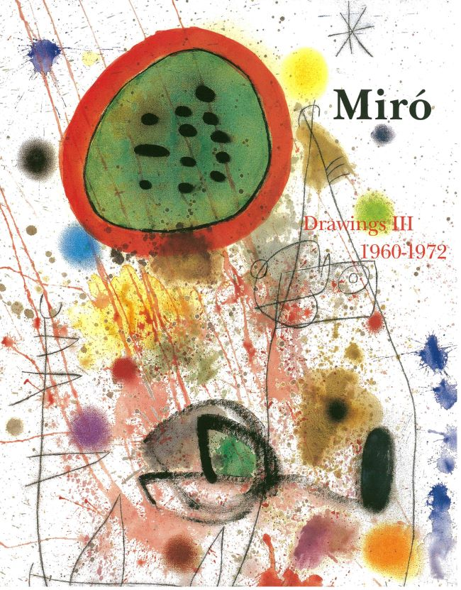livre Miró Drawings. Vol.3 (1960-1972) Joan Miró