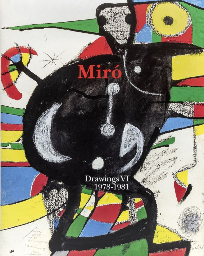 livre Miró Drawings. Vol.6 (1978-1981) Joan Miró