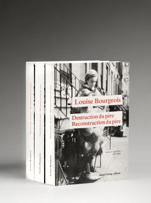 livre Destruction du père. Reconstruction du père. Louise Bourgeois