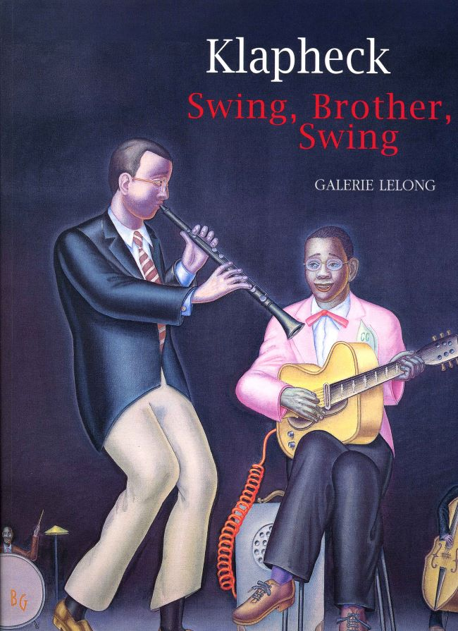 livre Swing, Brother, Swing Konrad Klapheck