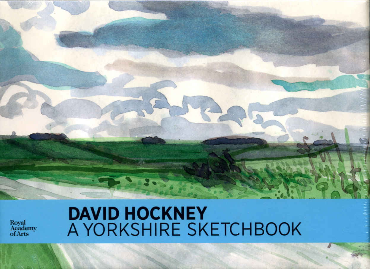 livre A Yorkshire Sketchbook David Hockney