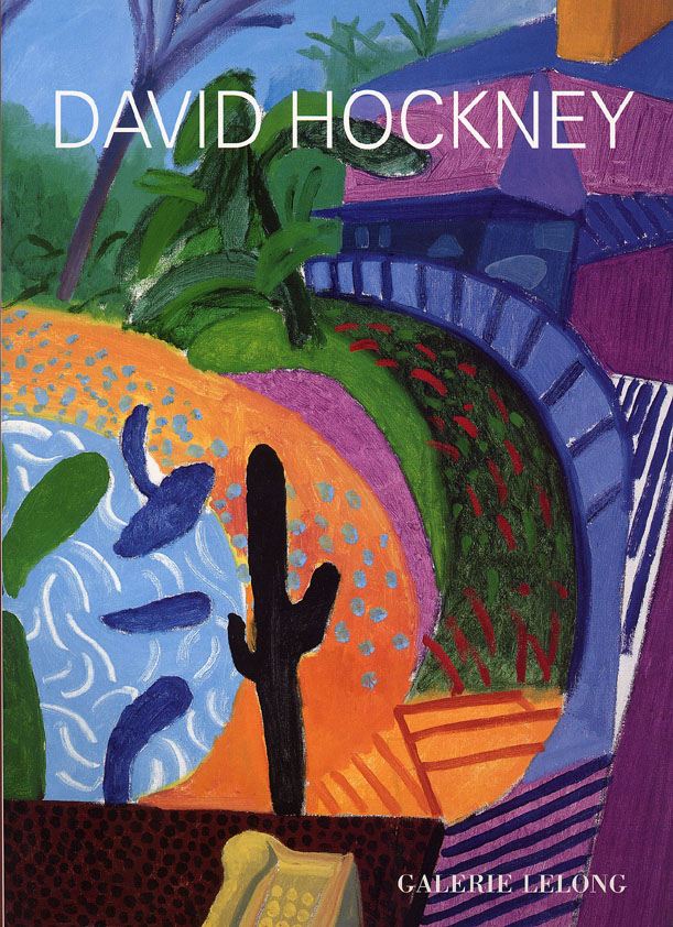 livre David Hockney, Close and far David Hockney