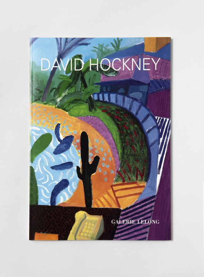 livre Close and far David Hockney