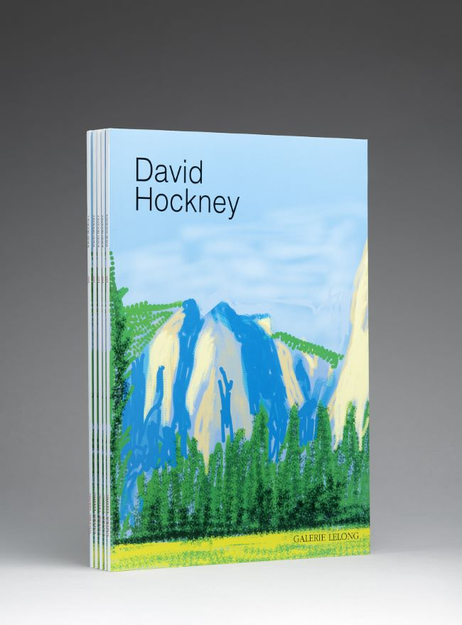 livre The Yosemite Suite David Hockney
