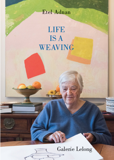 livre Life is a Weaving Etel Adnan