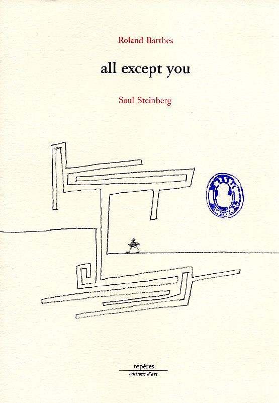 livre All except you Saul Steinberg