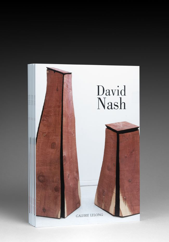 livre Black and Red : Bronze and Wood David Nash