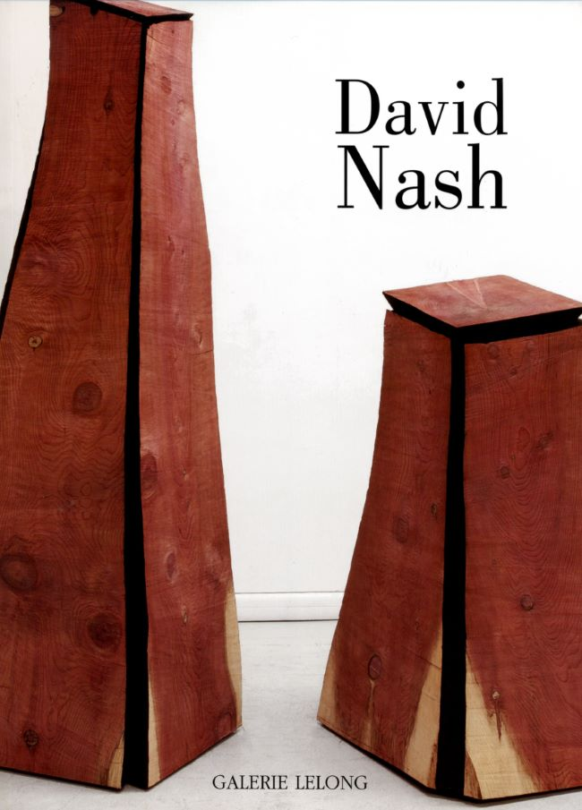 livre David Nash, Black and Red : Bronze and Wood David Nash