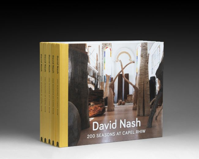 livre 200 seasons at Capel Rhiw David Nash