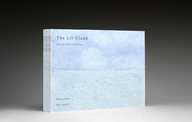 livre The Lit Cloud, watercolors by Kiki Smith (signed edition) Kiki Smith