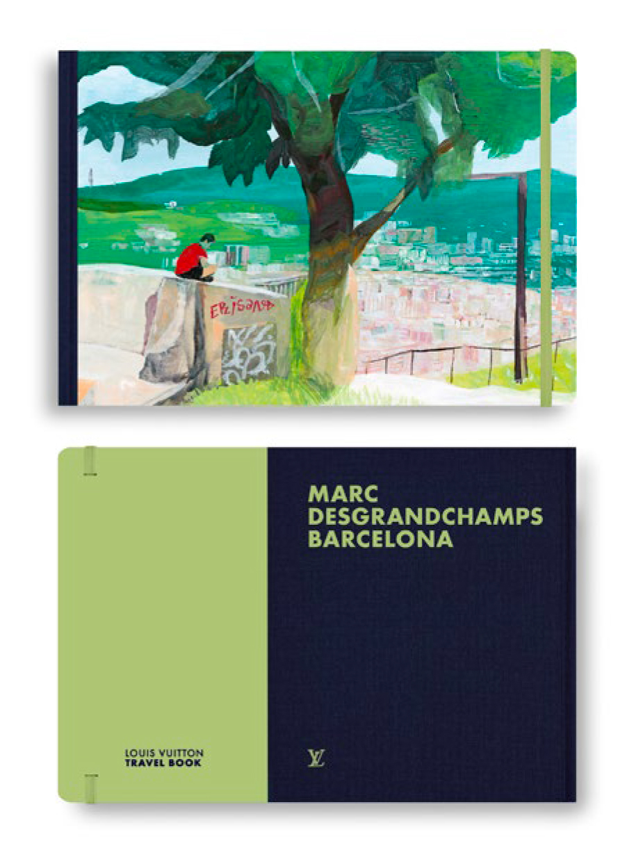 livre Marc Desgrandchamps Barcelona Travel Book Marc Desgrandchamps