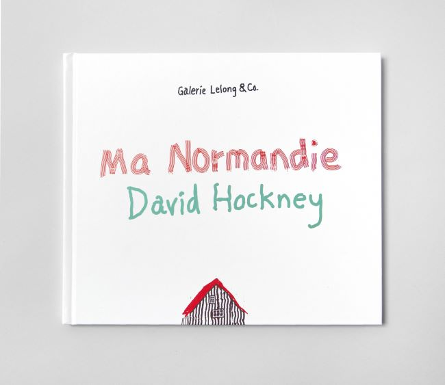 livre Ma Normandie David Hockney