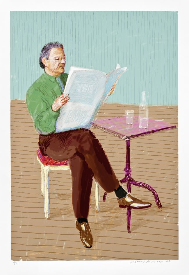 oeuvres Peter Goulds David Hockney