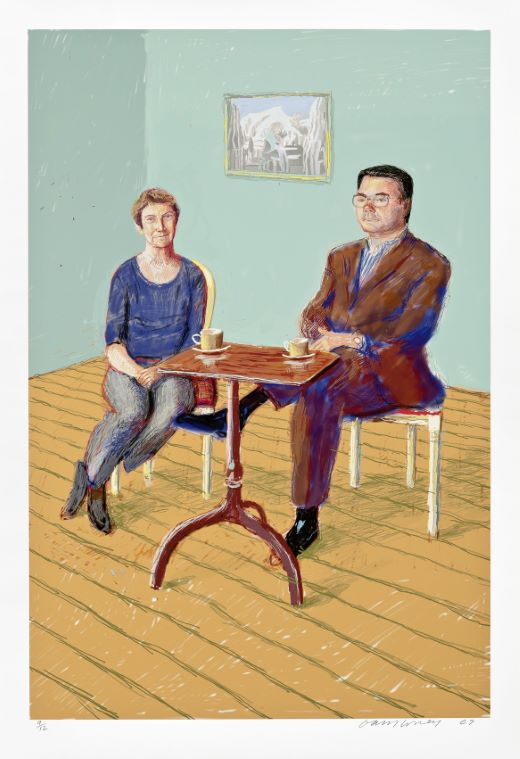 oeuvres Michele and John Spike David Hockney