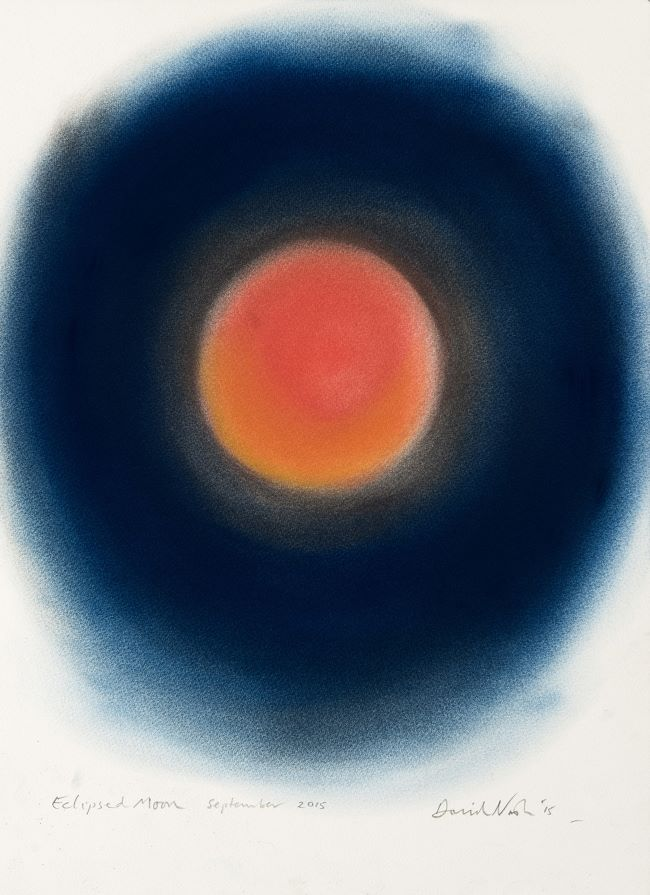 oeuvre Eclipsed Moon David Nash