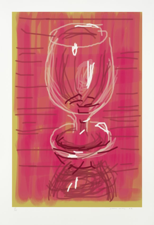 oeuvre Glass David Hockney