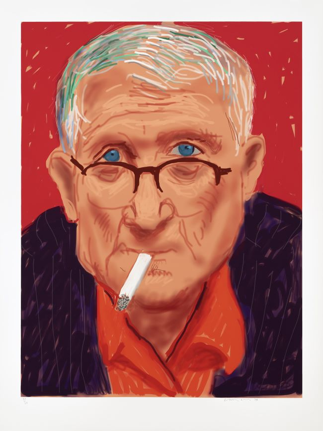 oeuvres Self Portrait III, 20 March 2012 David Hockney