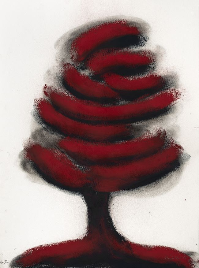 oeuvres Red Tree David Nash